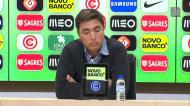 Pergunta sobre Geraldes e Podence deixou Rui Jorge... reticente