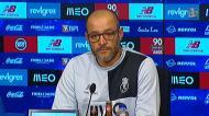 A auto-avaliação de Nuno Espírito Santo ao trabalho no FC Porto