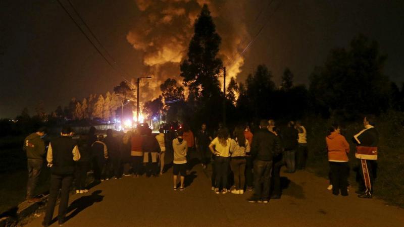 Incêndio em São Paio de Oleiros