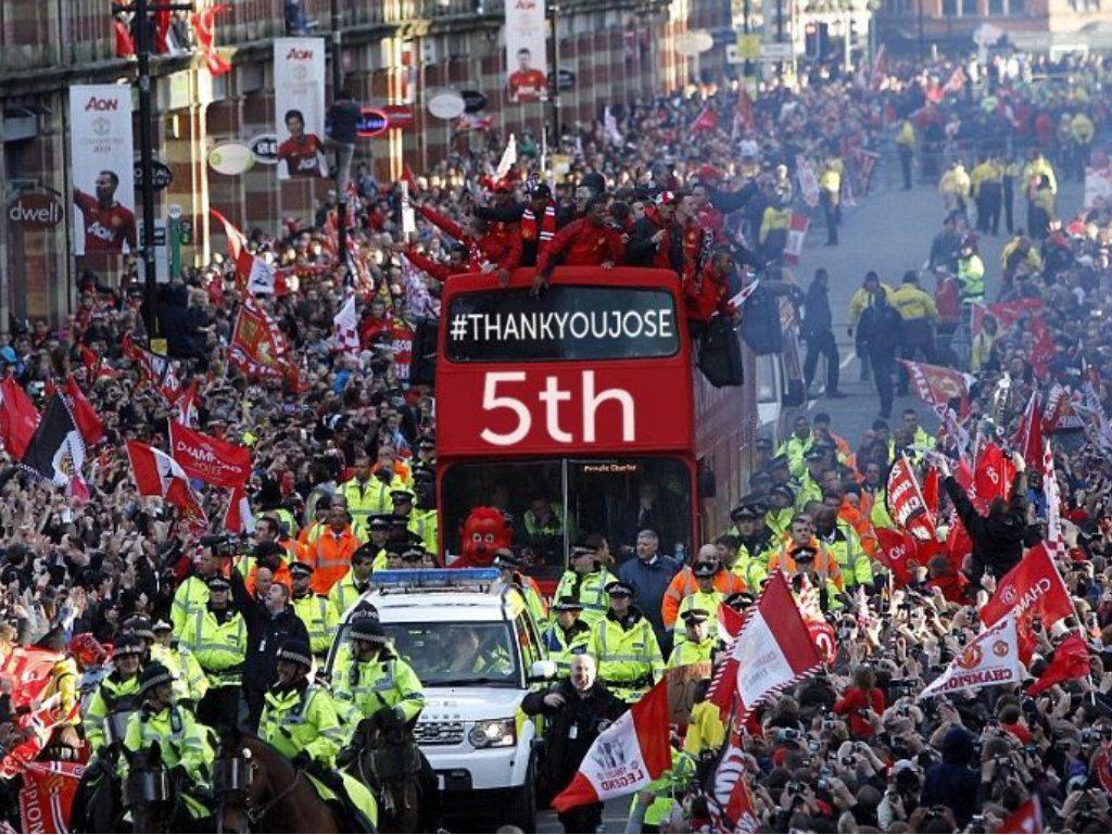 Manchester United (5º lugar na internet)
