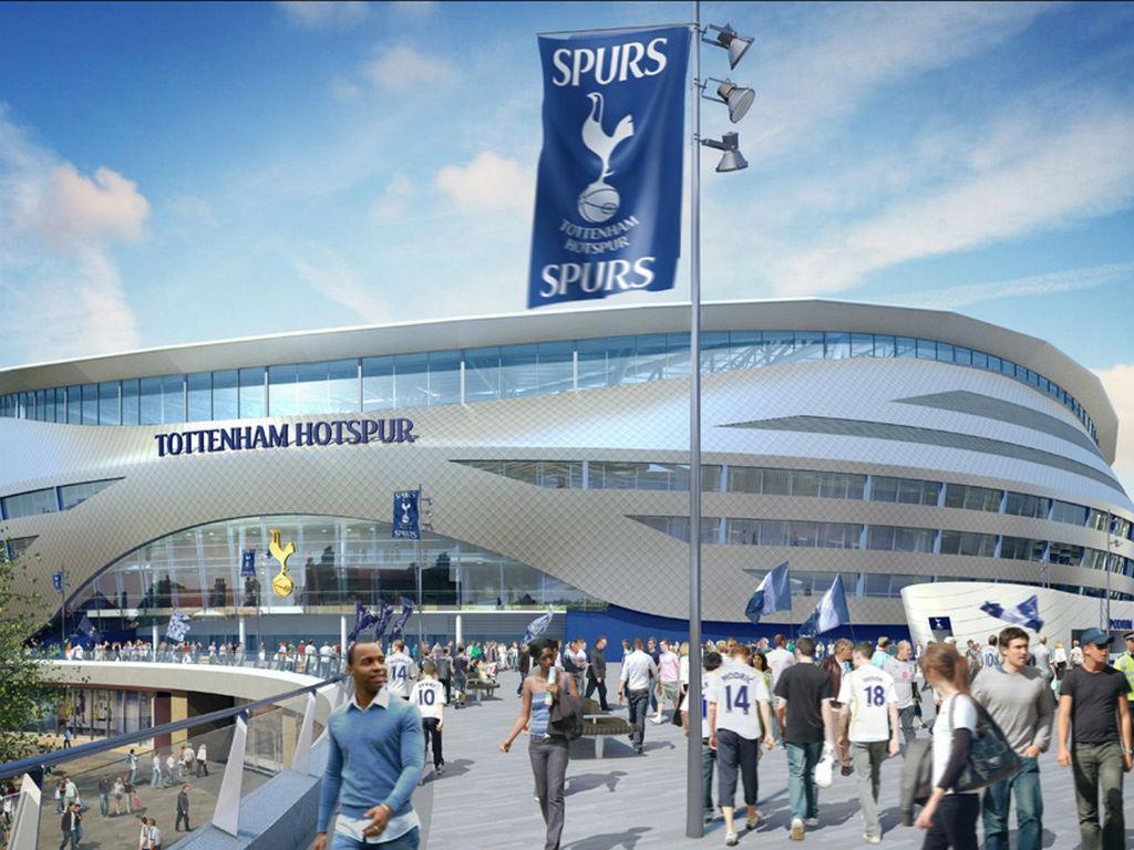 Tottenham: o novo estádio (Fotos tottenhamhotspur.com)