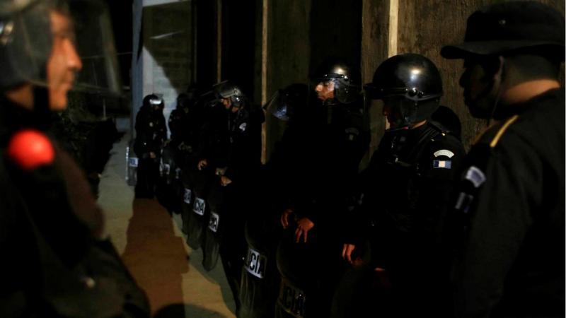 Polícia na Guatemala
