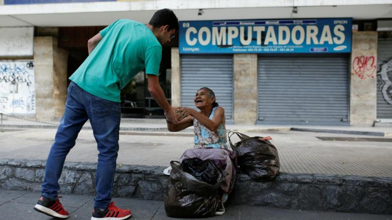 Ajuda voluntária na Venezuela