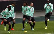 Seleção: o treino a dois dias da Hungria