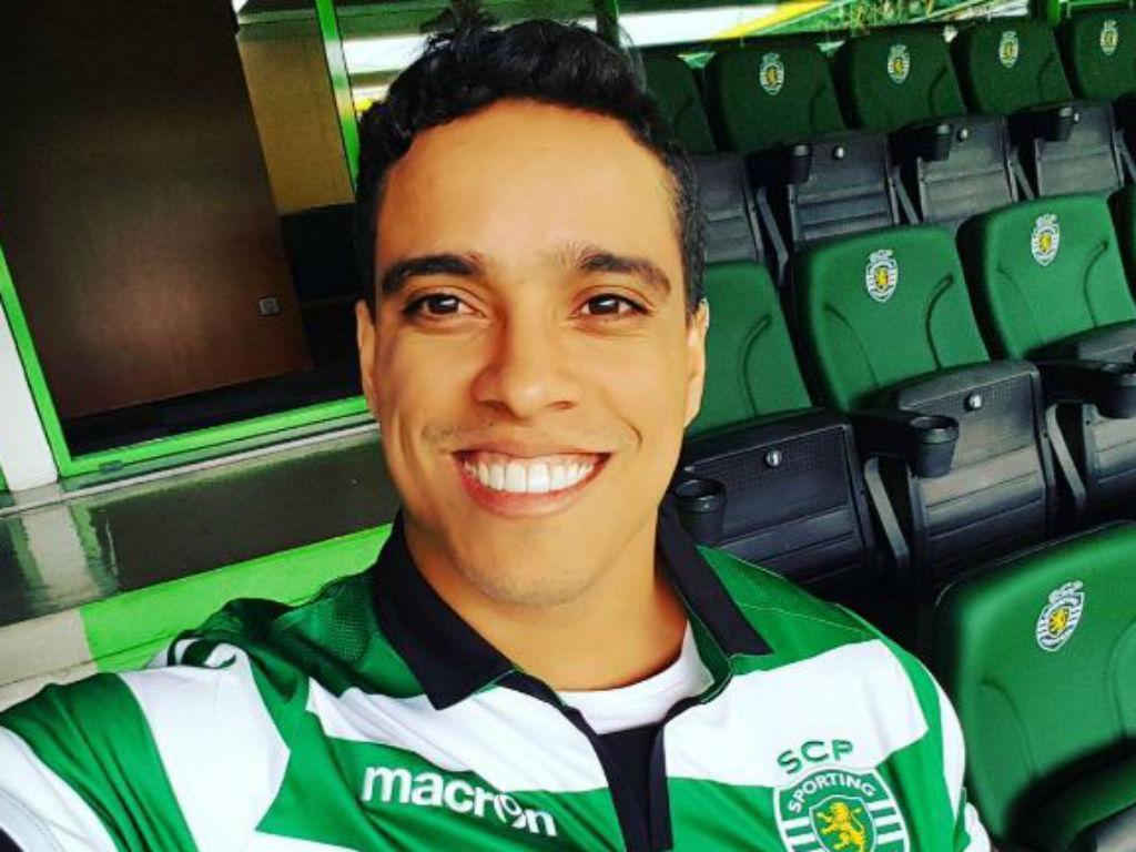 Wendell Lira em Alvalade (instagram)