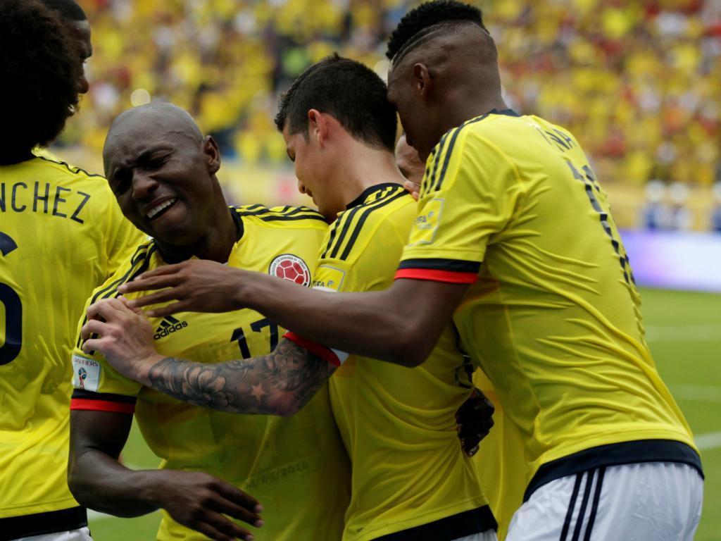 Mundial 2018: Colômbia-Bolívia