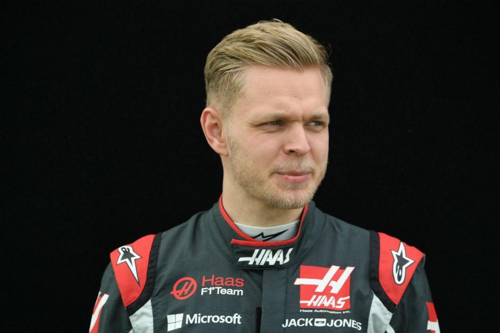 16. Kevin Magnussen (Din), Haas