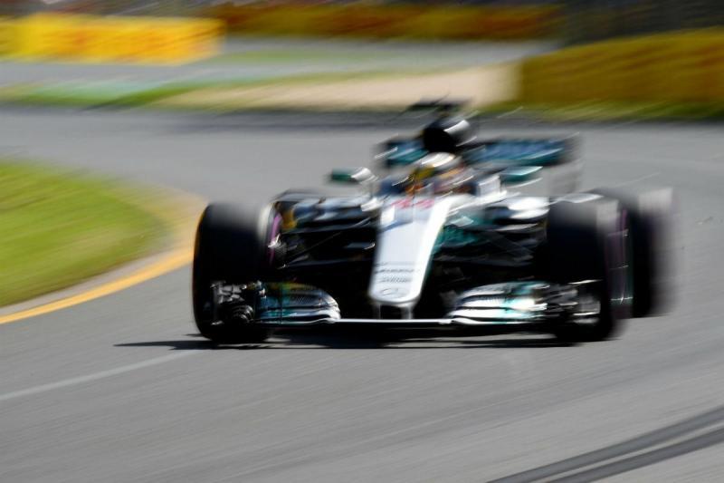Lewis Hamilton - Mercedes - Austrália