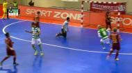 Futsal: Sporting vence no Fundão