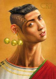 FOTOS: Cristiano Ronaldo em Caricatura