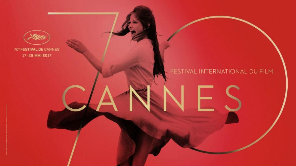 Revelado o cartaz oficial da 70ª edição do Festival de Cannes, a realizar em maio de 2017
