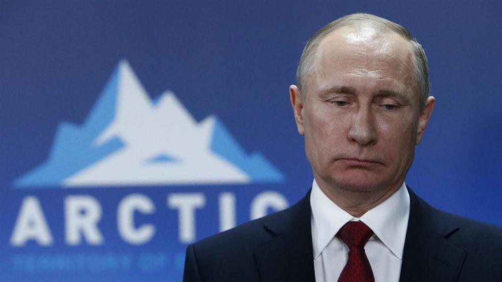 Vladimir Putin no Ártico