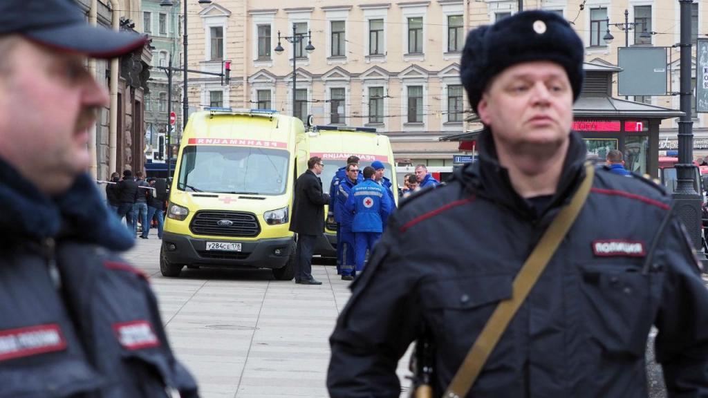 Explosão no metro de São Petersburgo