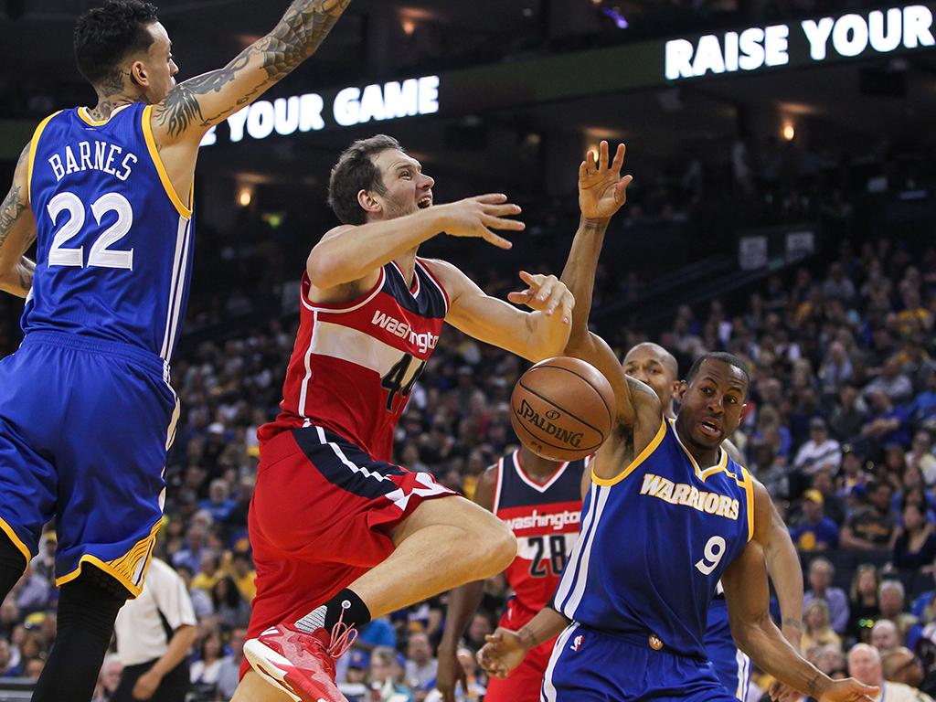 Golden State Warriors-Washington Wizards (Reuters)