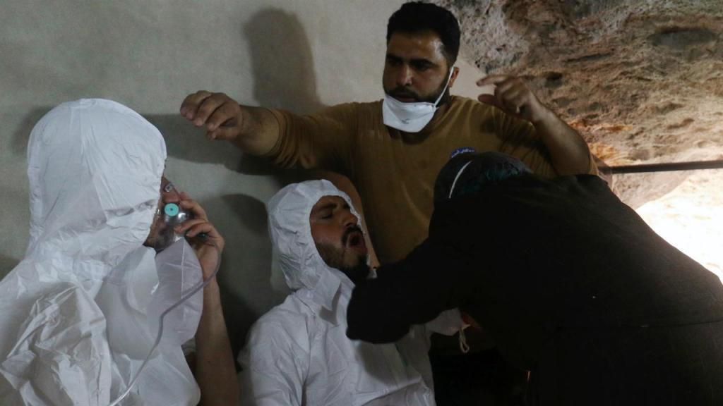 Ataque com gás tóxico na Síria