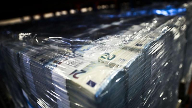Dinheiro armazenado no Complexo do Carregado do Banco de Portugal