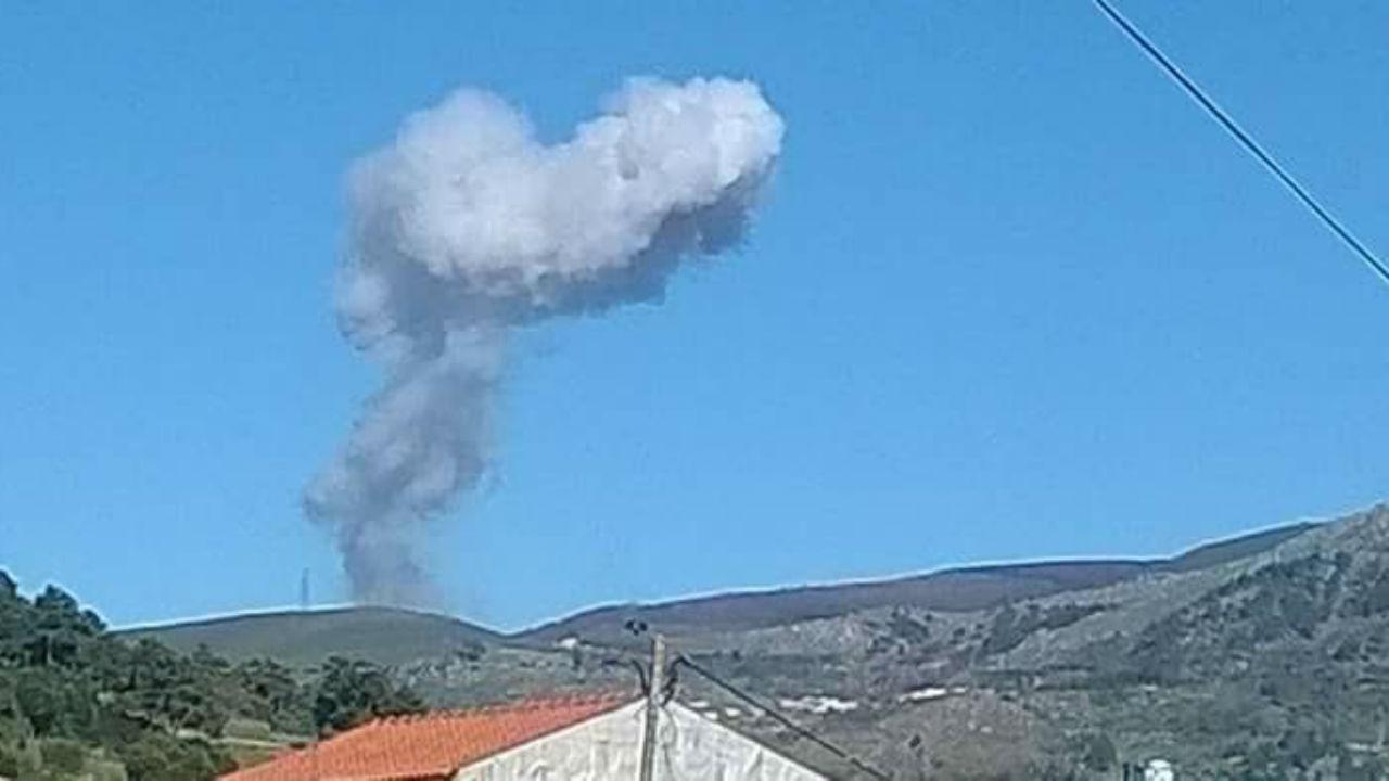 Explosão em fábrica de pirotecnia