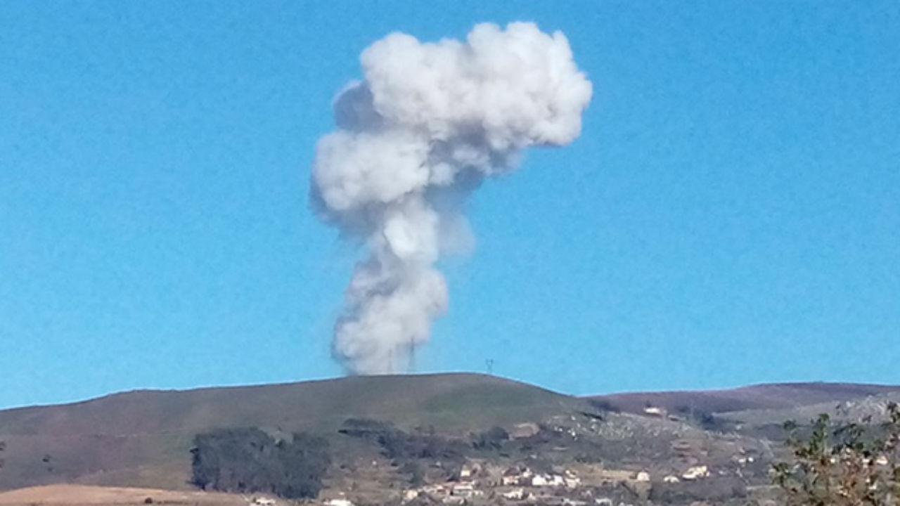 Explosão em Lamego