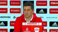A reação de Vitória às queixas do Sporting: «Que movimentos faz o Kléber, sabem?»