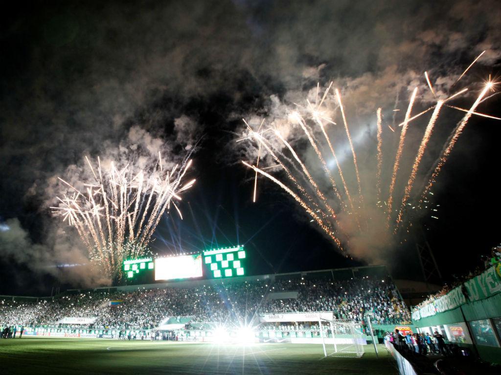 Chapecoense-Atlético Nacional (Reuters)
