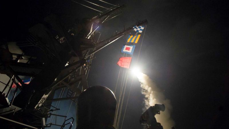 EUA bombardeiam Síria