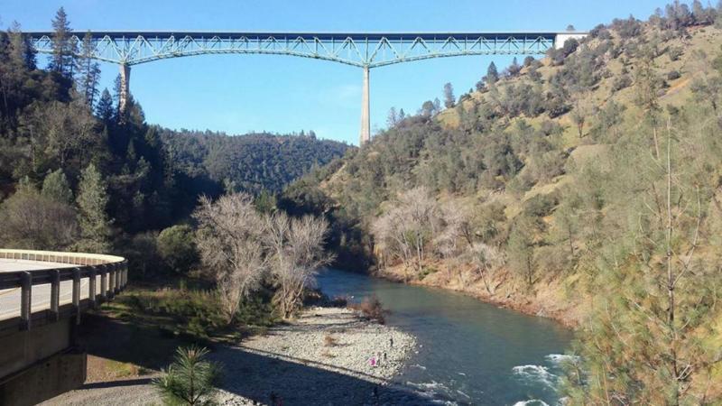 Ponte Foresthill na Califórnia