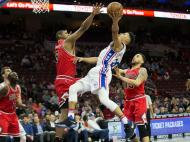 Philadelphia 76erss-Chicago Bulls (Reuters)