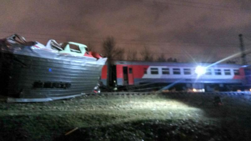 Acidente de comboio na Rússia