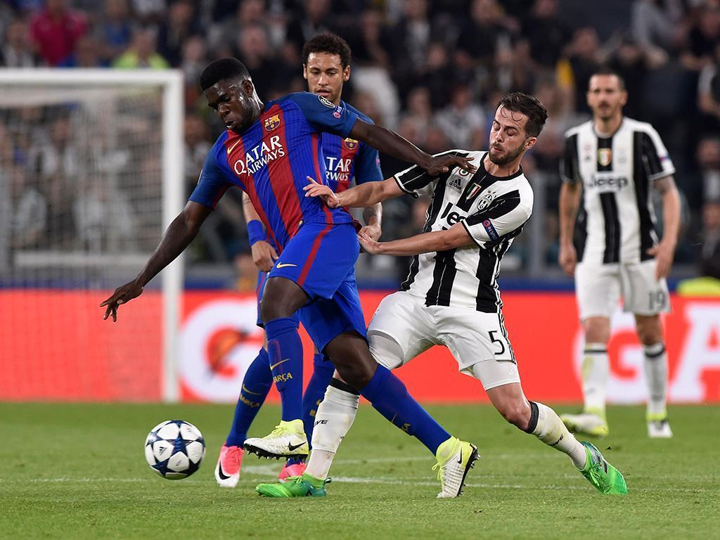 Juventus-Barcelona (Reuters)