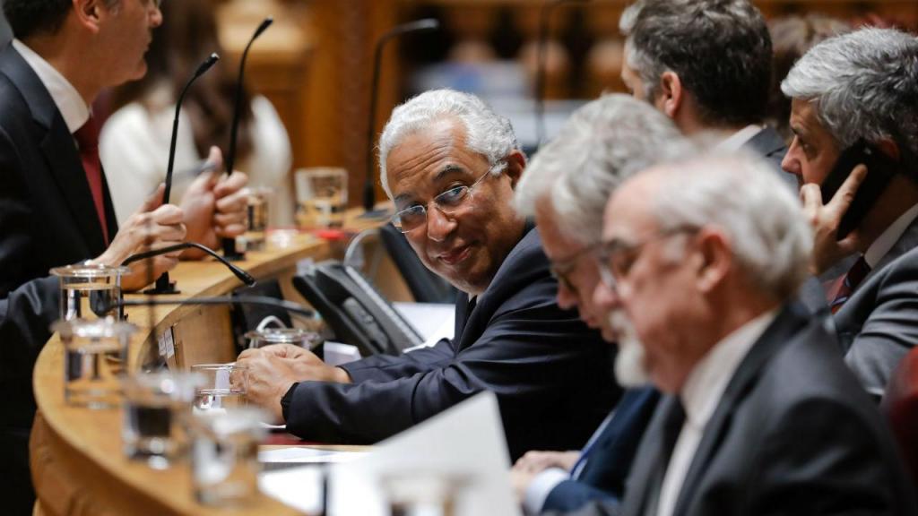 António Costa na Assembleia da República responde aos deputados