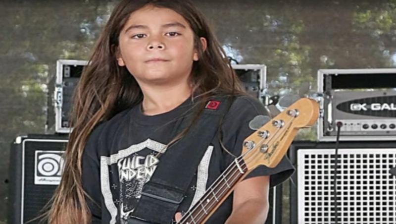Tye Trujillo - filho de Robert Trujilo (Metallica)