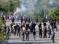 Desacatos no Lyon-Besiktas (Reuters)