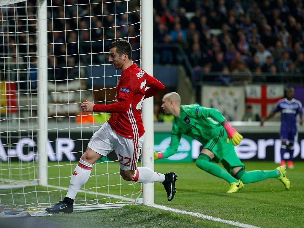 Anderlecht-Manchester United (Reuters)