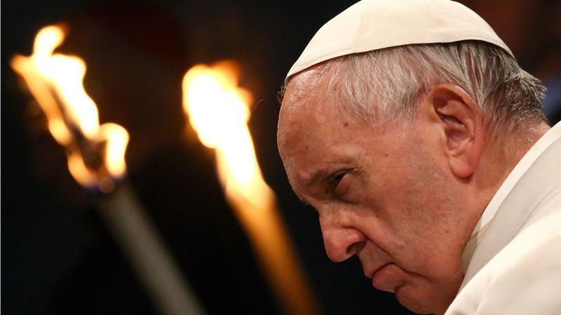 Papa Francisco na Via Sacra
