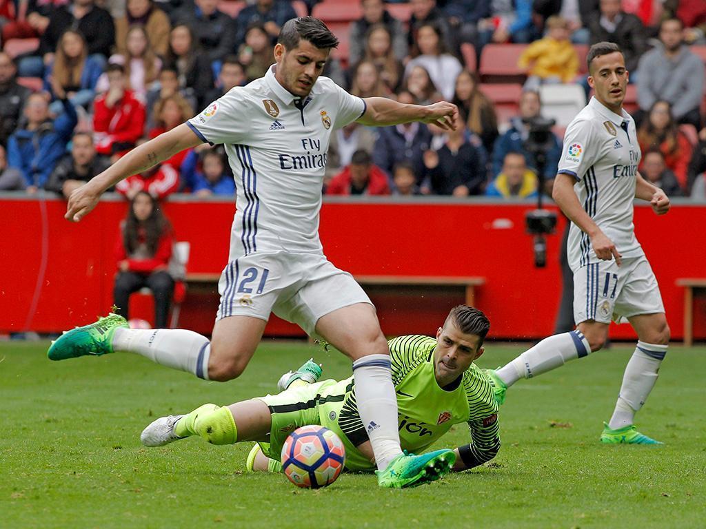 Gijon-Real Madrid (Lusa)