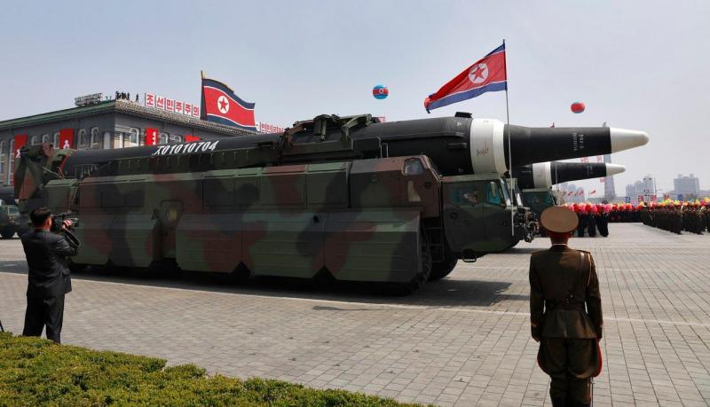 Lançamento de míssil da Coreia do Norte fracassa, diz CNN