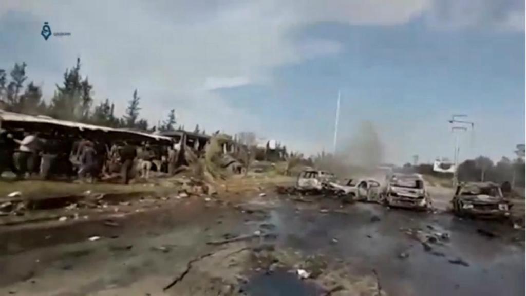 Explosão na Síria
