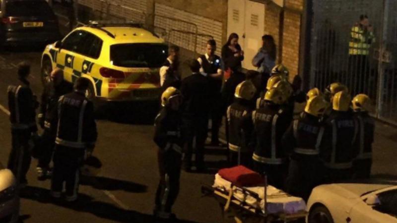 Ataque com ácido na discoteca Mangle, em Londres