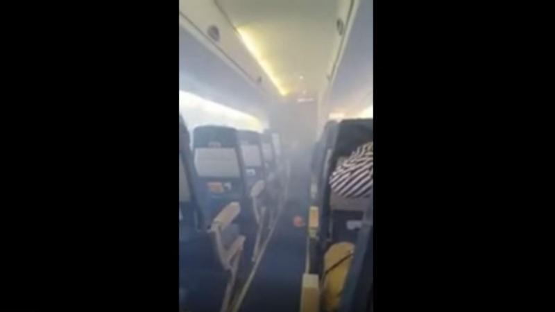 Fumo em avião na Nigéria