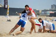 João Côrte-Real: campeonato universitário de râguebi de praia (Foto CDUP-UP)