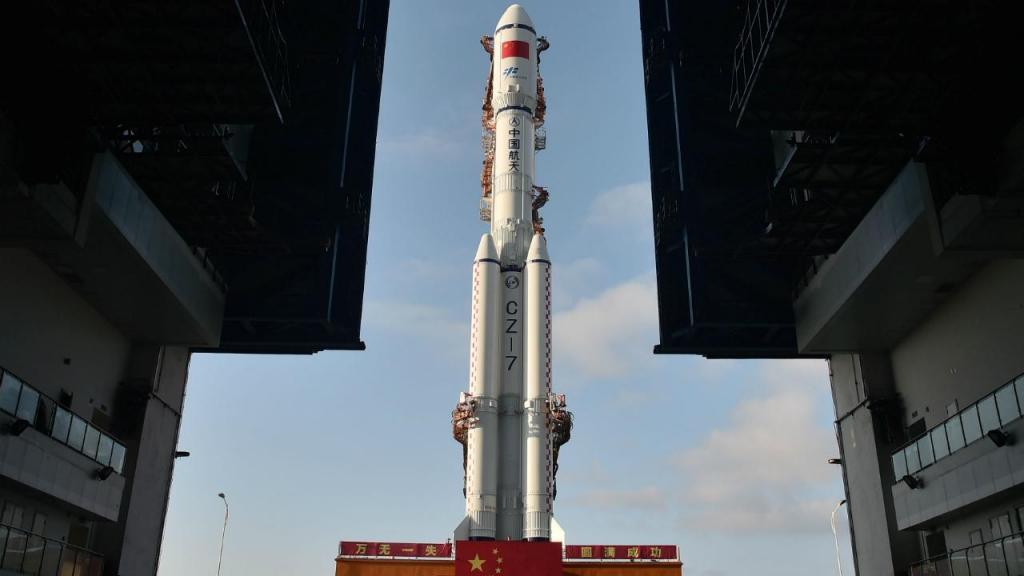 Cargueiro espacial chinês Tianzhou 1