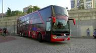 Autocarro do Benfica já chegou a Alvalade