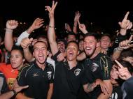 Portimão comemora regresso à Liga (Lusa)