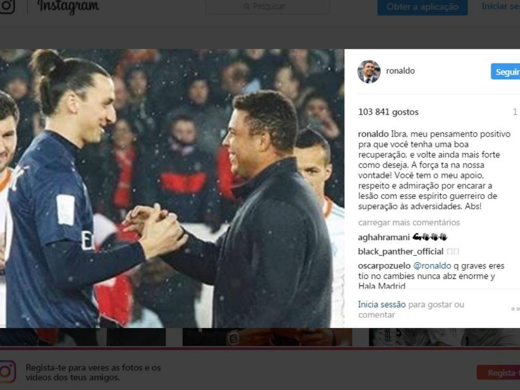 Ronaldo e Ibrahimovic