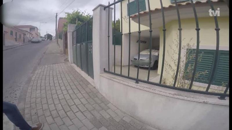 TVI tem imagens exclusivas do carro que atropelou o adepto italiano