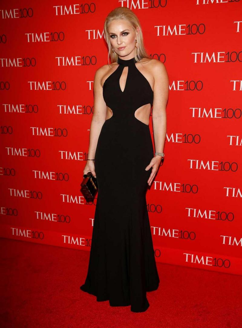834b7bb30f 13 33 - Lindsey Vonn 1 - Gala Time 100 Gala em Manhattan 25.04.17 Foto   Reuters