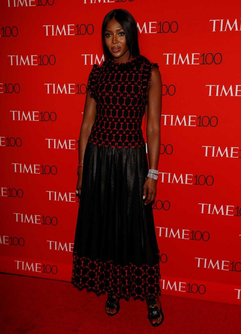 d2c2be98f9 10 33 - Modelo Naomi Campbell - Gala Time 100 Gala em Manhattan 25.04.17  Foto  Reuters