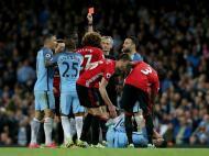 United e City a zero no dérbi de Manchester