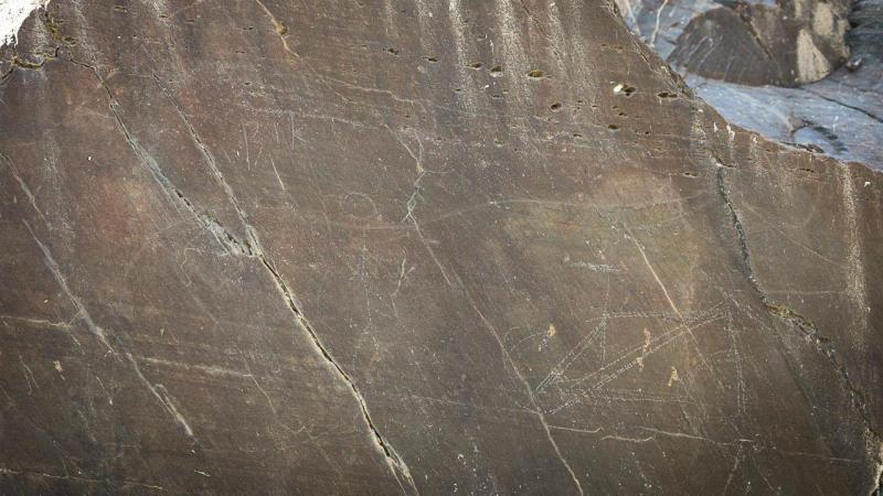 Vandalismo nas gravuras do Vale do Côa