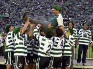 Sporting foi campeão há 15 anos